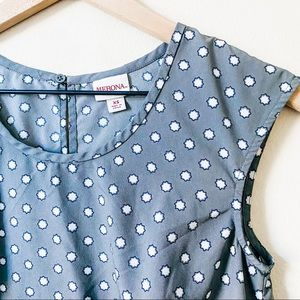 Merona | dotted blouse